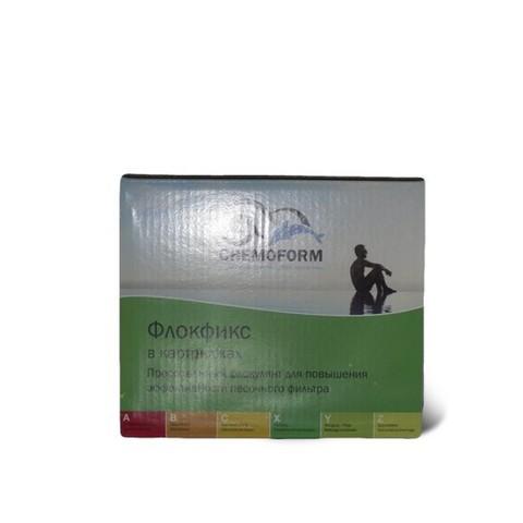 Флокфикс флокулянт в картриджах 8 х 125гр. 1кг Chemoform
