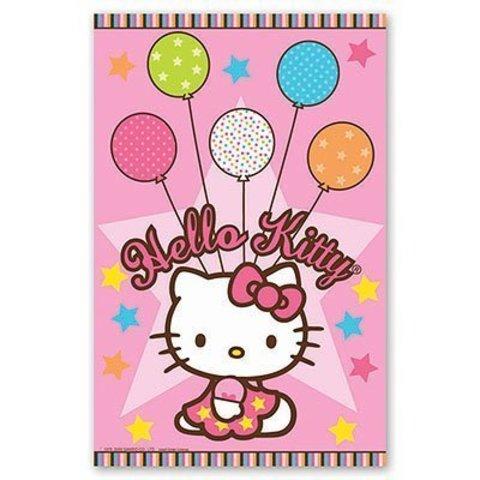Скатерть п/э Hello Kitty 1,4х2,6м/А