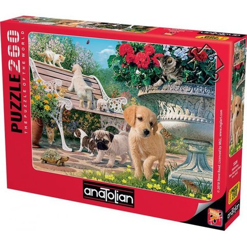 Puzzle Saklambaç. Pets Hide and Seek 260 pcs