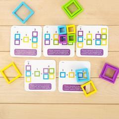 Развивающий набор Умные квадраты Zabiaka 4458859