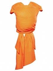 Чудо-Чадо. Май-слинг Детство, горох мелкий оранжевый