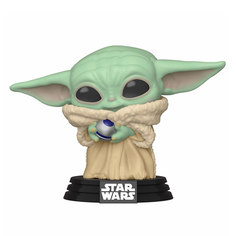 Фигурка Funko POP! Bobble Star Wars Mandalorian The Child W/ Control Knob (Exc) 48905