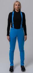 Женские лыжные брюки NordSki Premium Blue / National
