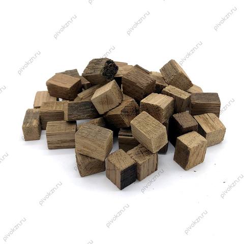 Дубовые кубики средней обжарки, 100 г