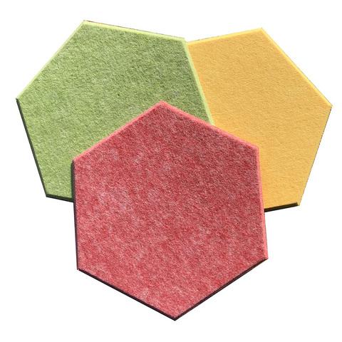 Акустическая полиэфирная панель Echoton Polyster Hexagon (300x340x9 mm)- 1штука