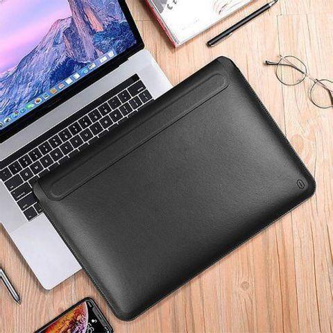 Папка конверт для MacBook New 13'' Wiwu Skin Pro2 Portable Stand /black/