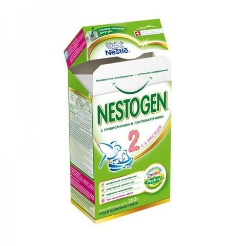 NESTOGEN® 2 Сухая молочная смесь 300 гр с 6 месяцев
