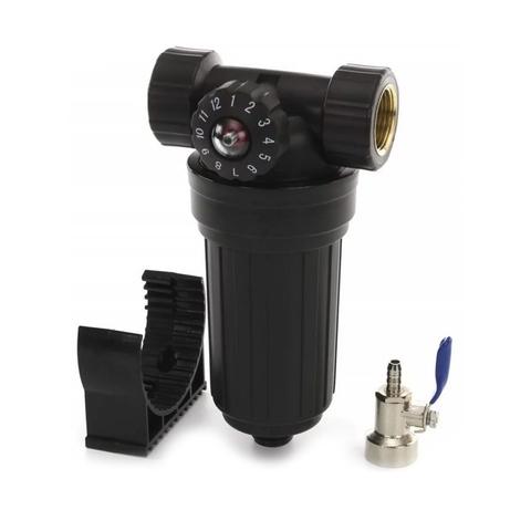 Бытовой фильтр предварительной очистки воды Raifil PS503 BK-BK 34