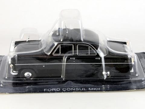 Ford Consul Mk.II England 1:43 DeAgostini World's Police Car #19