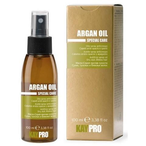 Масло-спрей с аргановым маслом против сухости волос KAYPRO,100 мл