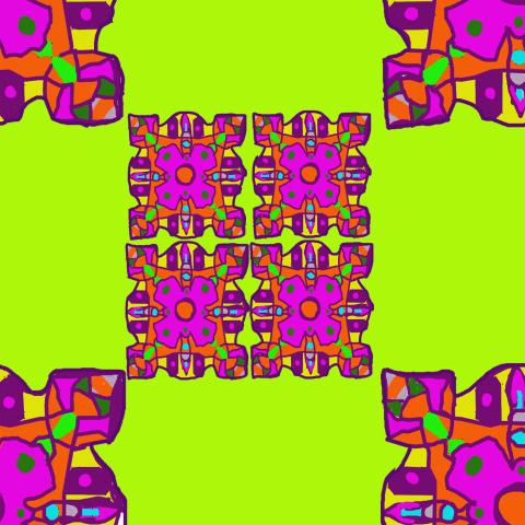 абстрактный узор