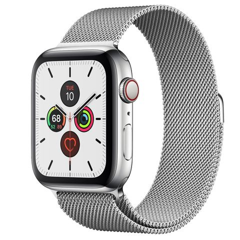 Часы Apple Watch Series 5 GPS + Cellular 44mm Stainless Steel Case with Milanese Loop(Silver)