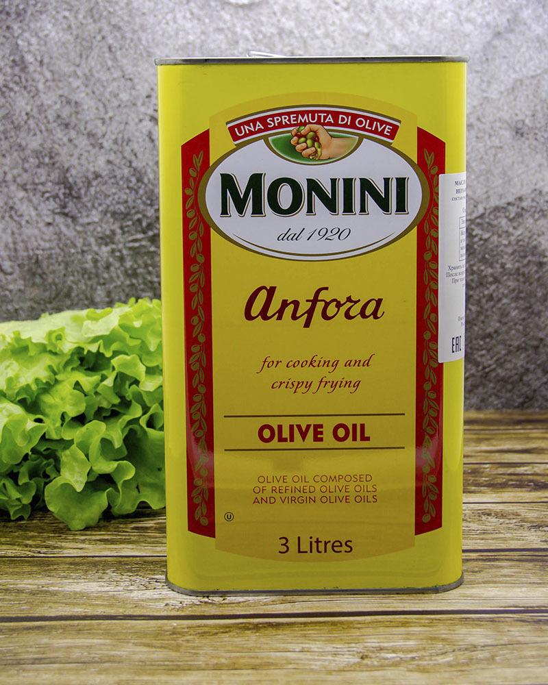 Оливковое Масло Monini Анфора 3 л.