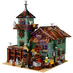 Сити 8001 Старый рыболовный магазин 2295 дет.Конструктор