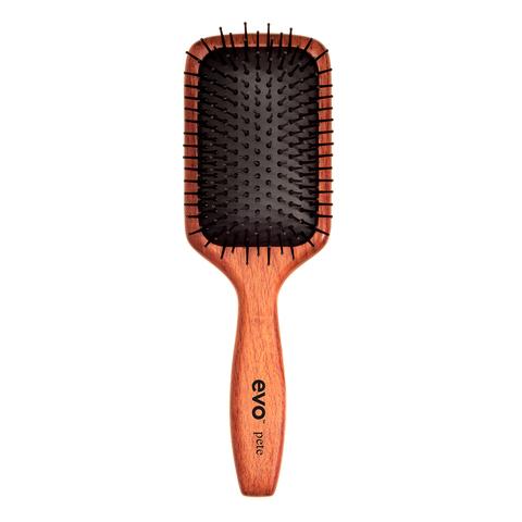EVO Щетка массажная с ионизацией для волос [Пит] Pete Ionic Paddle Brush