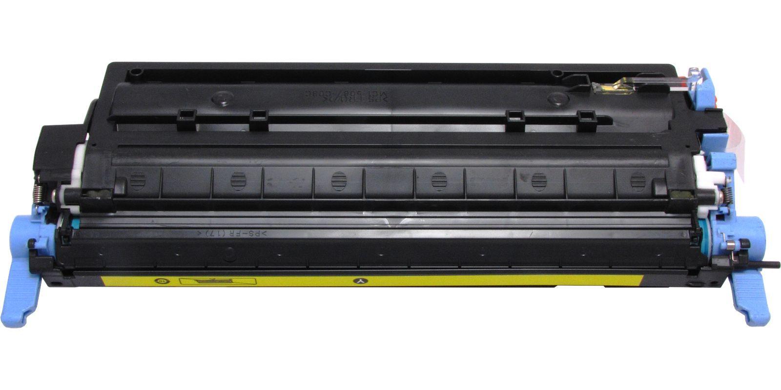 Картридж лазерный цветной MAK© 124A Q6002A CARTRIDGE-307/707/107 желтый (yellow).