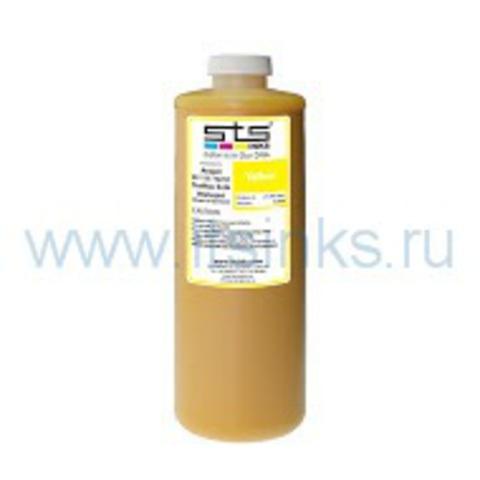Текстильные чернила STS DTG Yellow 1000 мл