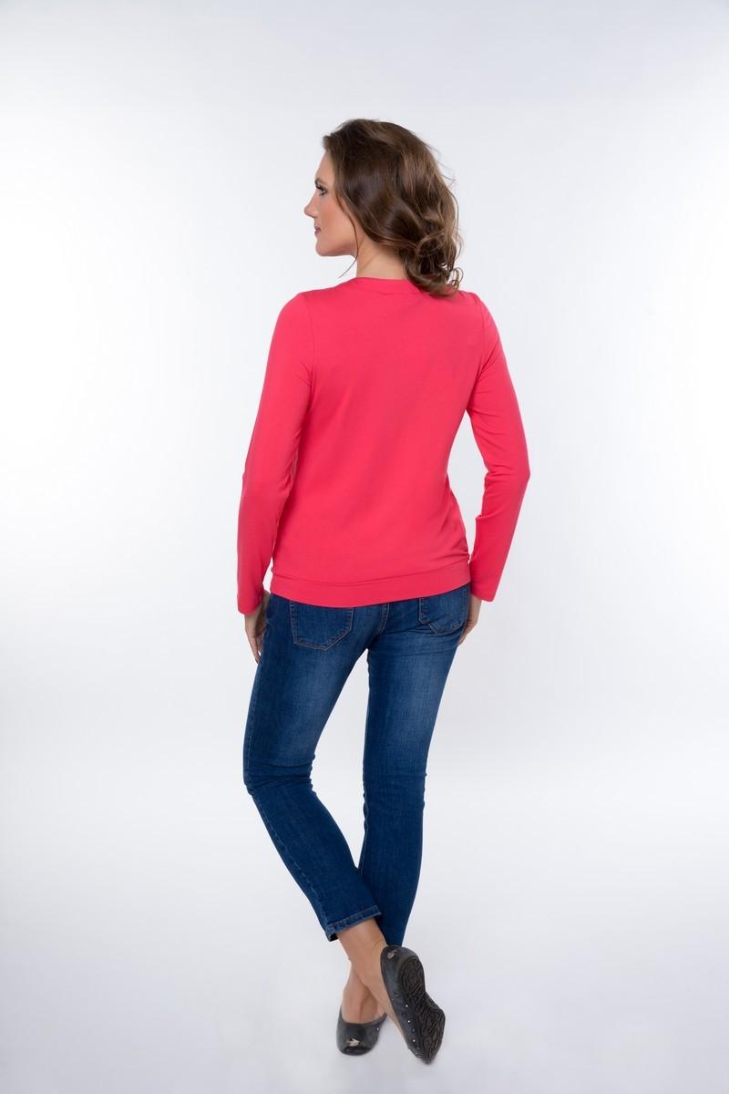 Блузка для беременных 01822 коралловый
