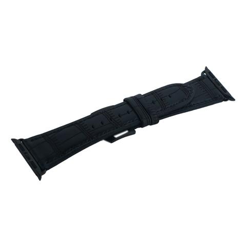 Ремешок кожаный COTEetCI W37 Fashion Leather (WH5262-BK) для Apple Watch 40мм/ 38мм Черный