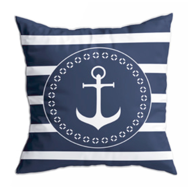 Santorini cushion set / navy blue