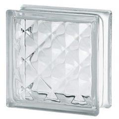 Купить стеклоблок бесцветный пирамида Vitrablok 19х19х8 в Краснодаре