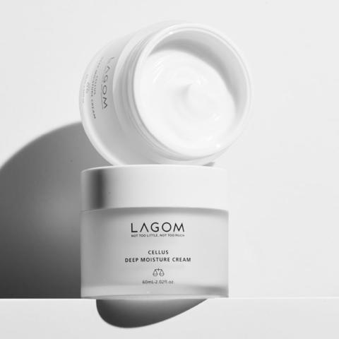 Крем для глубокого увлажнения кожи, 60 мл / Lagom Cellus Deep Moisture Cream