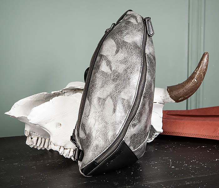 BAG487-3 Мужская сумка «банан» через плечо фото 02