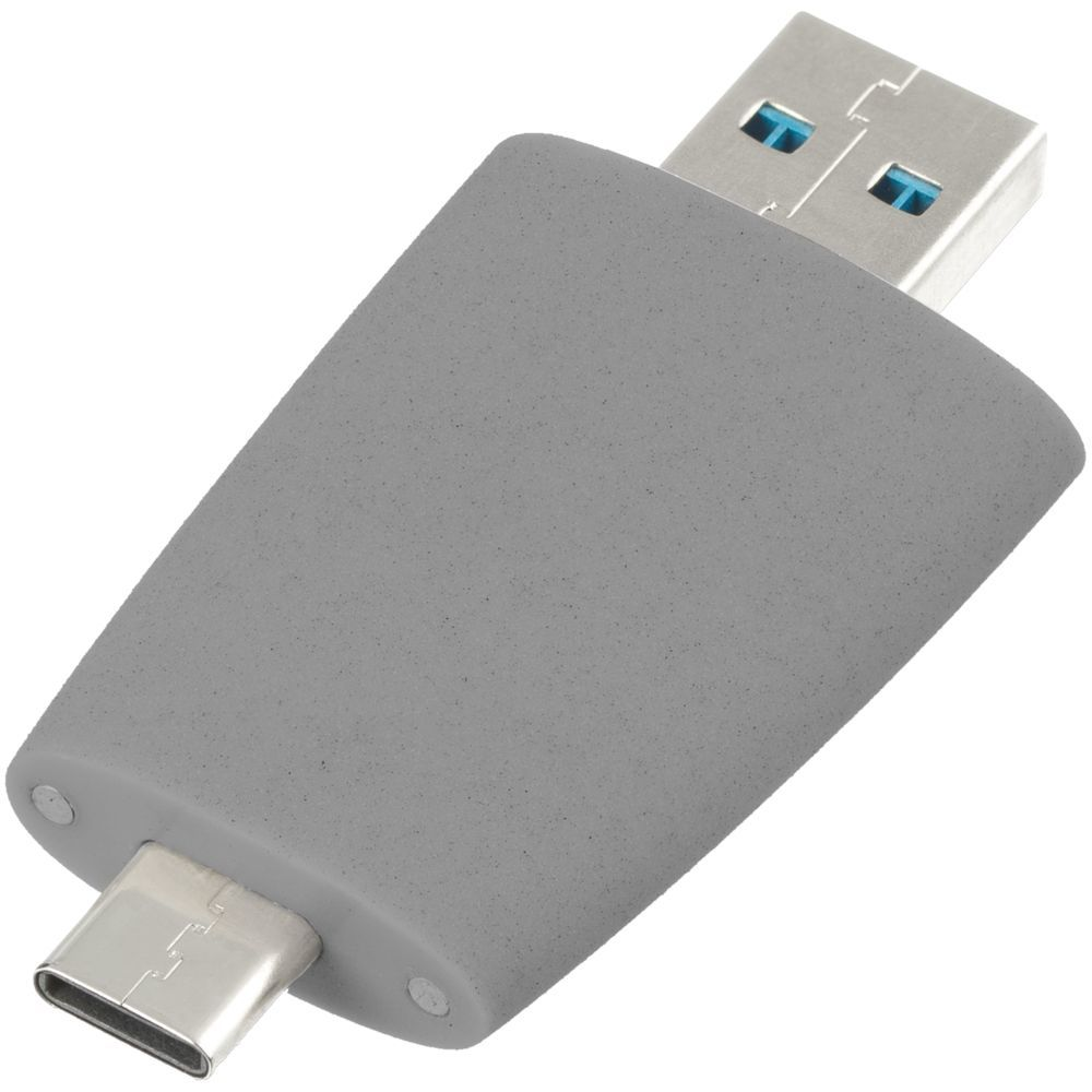 Pebble USB flash drive, grey
