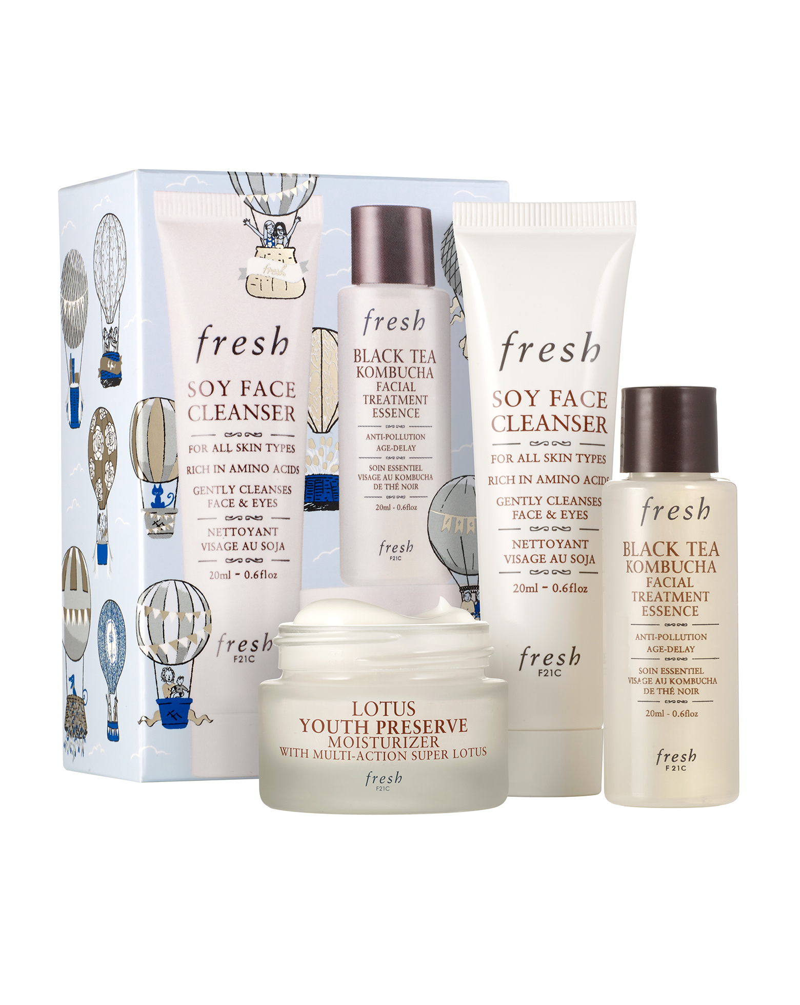 Fresh Radiance Routine Skincare Set