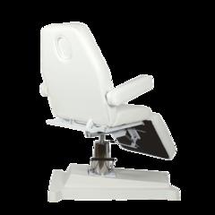 Косметологическое кресло Альфа-05, гидравлика цвет белый