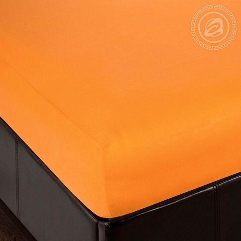 Простынь на резинке Апельсин