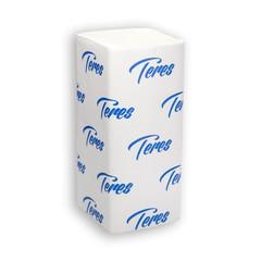 Полотенца бумажные листовые Терес Комфорт V-сложения 2-слойные 20 пачек по 200 листов (артикул производителя Т-0221)