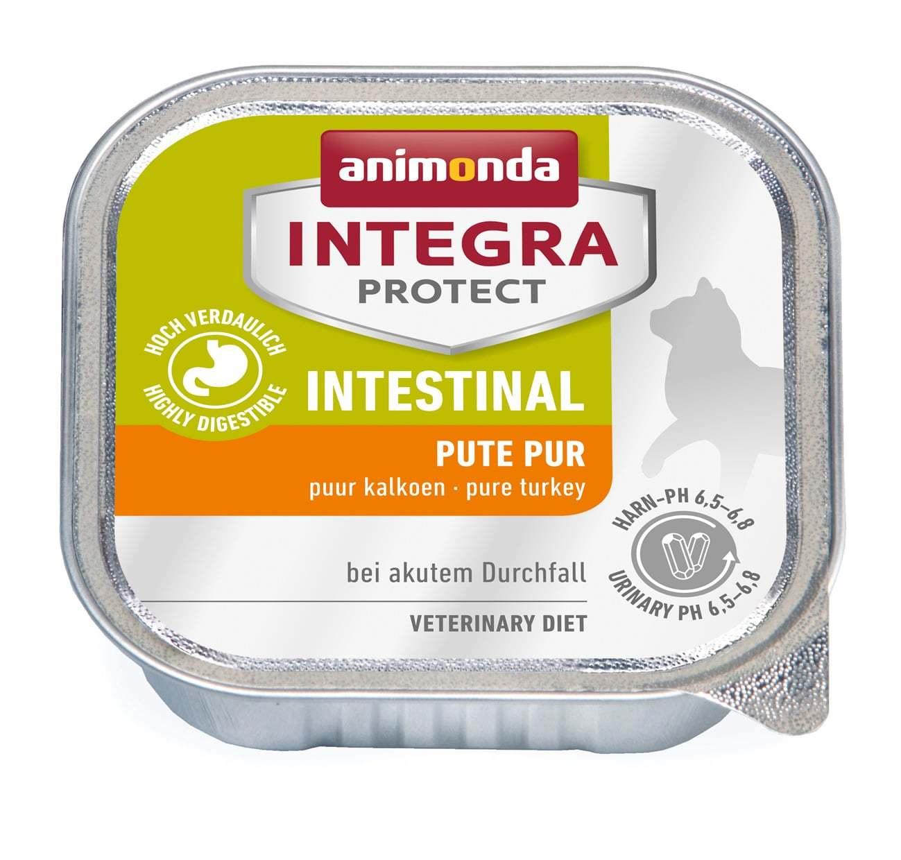 Купить Animonda Integra Protect Cat (ламистер) Intestinal pure Turkey для кошек