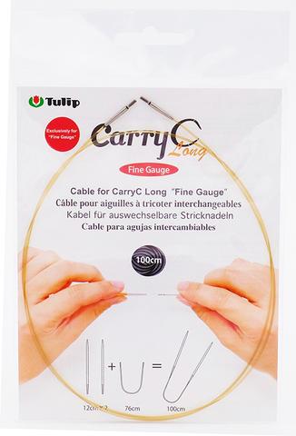 """Тросик для съемных спиц CarryC Long """"Fine Gauge"""", длина 100см, Tulip, CTMM-62"""