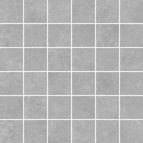 Мозаика CEMENT серый 300х300