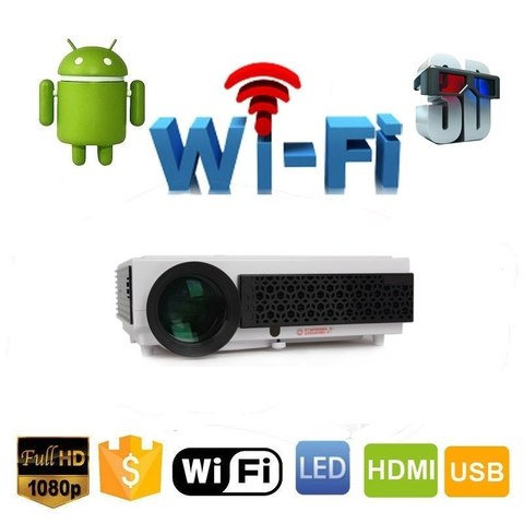 Проектор Everycom BT96+ Android + Wi-Fi