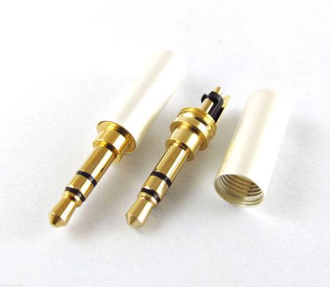 Штекер 3.5мм для ремонта наушников (3-контактный)