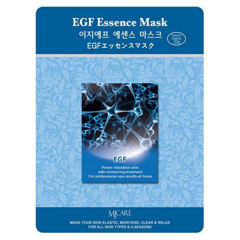 Маска тканевая с EGF MIJIN Cosmetic EGF Essence Mask