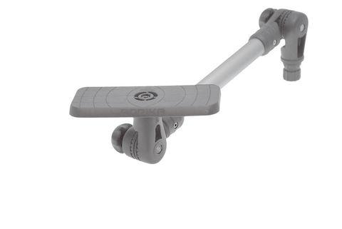 Площадка с удлинителем и поворотно-наклонным механизмом SSx223, 164 х 68 мм, серый