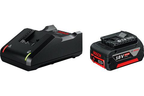 Аккумуляторная батарея и зарядное устройство BOSCH GBA 18V 4 Ah + GAL 18V-40