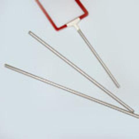 Трубка алюминиевая фиксированной длины  ALUTUBE 300 мм, Ø 9 мм.