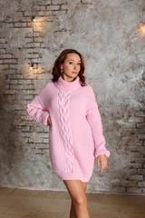 Мастер-класс длинный свитер Оверсайз