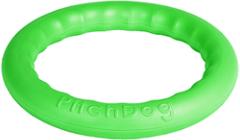 Игрушка для собак игровое кольцо для аппортировки d 28 зеленое, PitchDog 30
