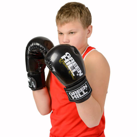 Перчатки боксерские Panther BGP-2098, Green Hill