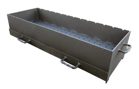 Доплата за усиленную жаровню 1000мм толщиной 5мм с золниками для мангалов ММ-26 и ММ-27