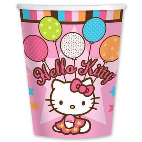 Стакан Hello Kitty, 8 штук
