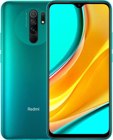 Смартфон Xiaomi Redmi 9 3/32GB NFC Зеленый  (Green) Global Version