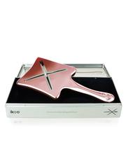 Ikoo Расческа-детанглер гламур Манхеттена Paddle X Pops Metallic Manhattan Glam