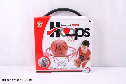 Баскетбольное кольцо, 32 см, металлическое (в коробке) 666-32