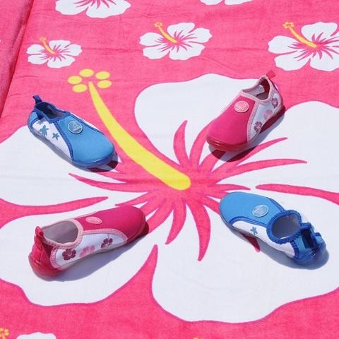 Аква-обувь для пляжа, розовая, р. 26, 28